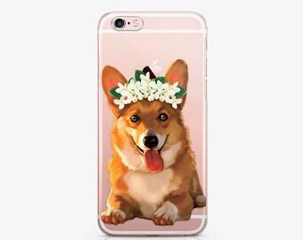 Corgi iPhone X Case Google Pixel 2 Case Samsung Galaxy S9 Case iPhone 8 Plus Case iPhone 7 Case Google Pixel Case Galaxy S8 Case AC1054
