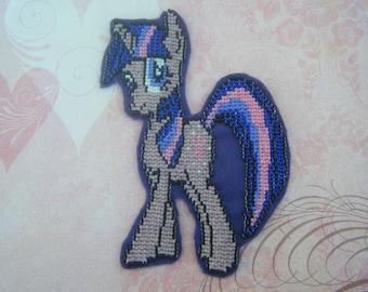 Beaded My Little Pony Patch - Twilight Sparkle
