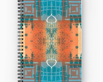 Spiral Notepad, Spiral Notebook, Life Writing Journal, Journal of Gratitude, Supplies for Back to School, College Students Gifts