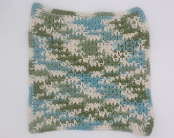 READY to ship: cloth, dish cloth, household linen, rag - large size - Emerald Isle (1 item)