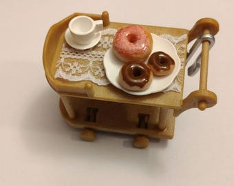Tiny donuts for dollhouses