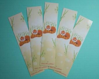 Little Fox bookmark