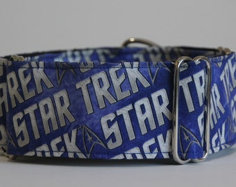 "Greyhound Star Trek 2"" Martingale Collar"
