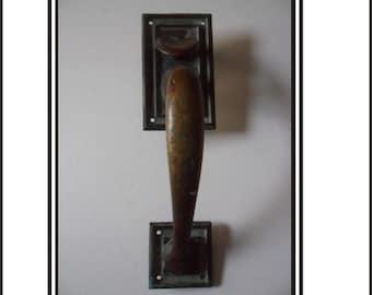 Vintage Brass Door Handle