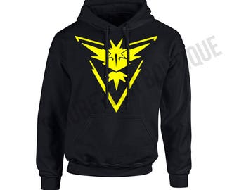 POKEMON GO - Team INSTINCT Hooded Sweater/Sweatshirt