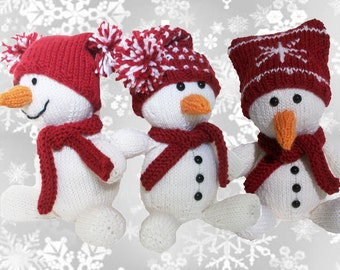 Flurry the Snowman ***PDF Pattern**