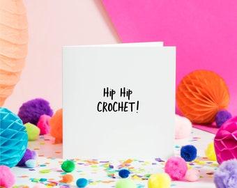 Hip Hip Crochet | Greeting Card