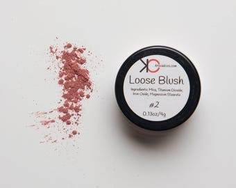 Makeup Blush, Blush, Cheek Color, Powder Blush, Pink Blush, Mineral Makeup, Cruelty Free Makeup, Gift for Her,