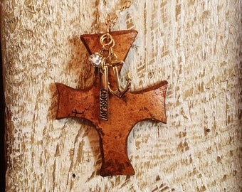 Cross Gourd Necklace