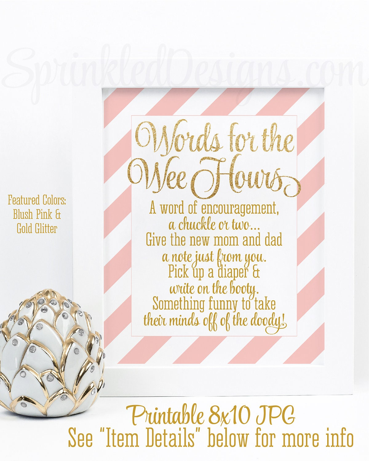 Baby shower games words for the wee hours words of wisdom zoom kristyandbryce Image collections