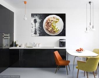 SMOOTHIE BOWL - Food Art - Kitchen Photo - Horizontal Photo - Digital Photo - Digital Download - Instant Download - Wall decor