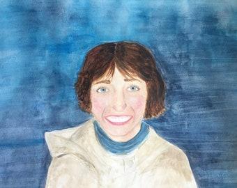 Custom Portrait - 8x10 Watercolor
