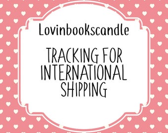 Tracking for international shipping