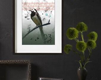 Bird poster print