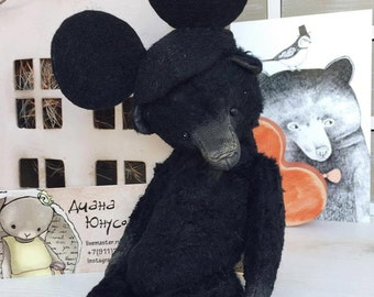 Sewing Kit For 7,5 Inch Bear with Mickey Mouse Hat