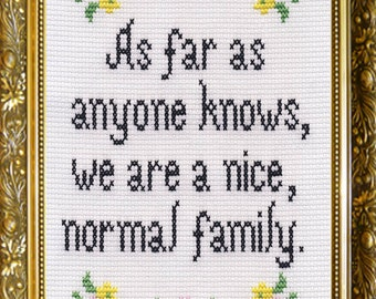"5"" x 7"" Greeting Card - Nice, Normal Family"