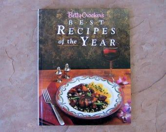 Betty Crocker's Best Recipes of the Year, Betty Crocker Cookbook, 1989 Vintage Cook Book