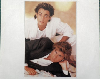 "WHAM Make It Big 1984 Portugal Issue Very Rare Original 12"" 33 rpm Vinyl Album Lp Record George Michael Dance Pop 1980s Music EPC86311"