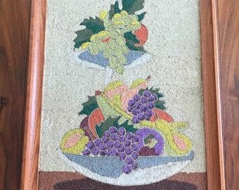 Framed Handmade Gravel Art