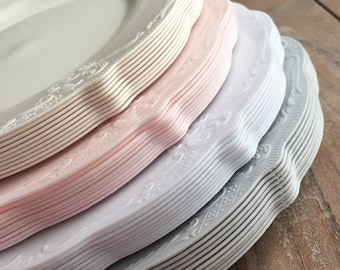 More colors : decorative wedding plates - pezcame.com
