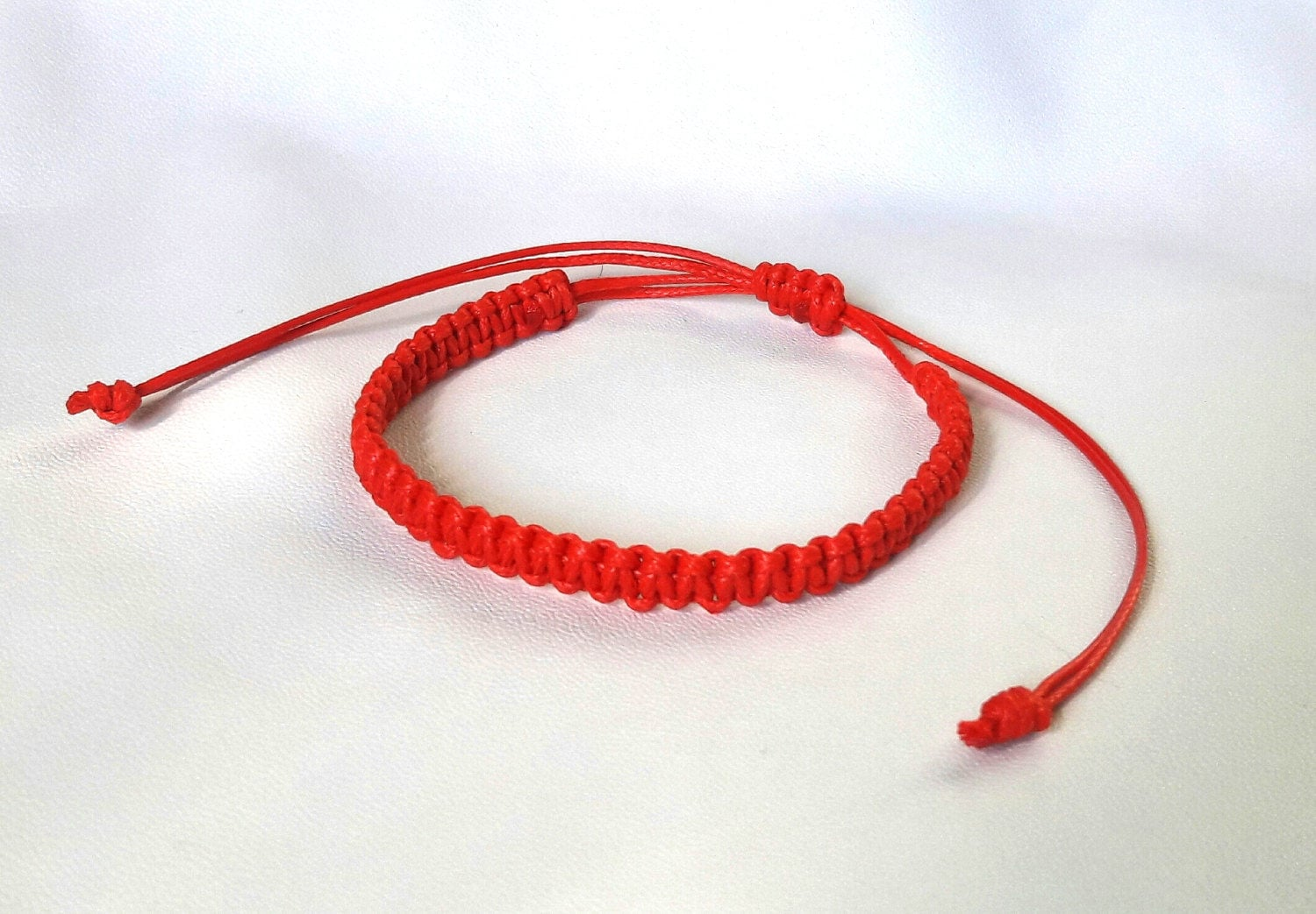 bracelet string product infinity en red charm oct
