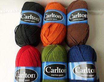 Yarn Sale  -Merino Sport by Carlton