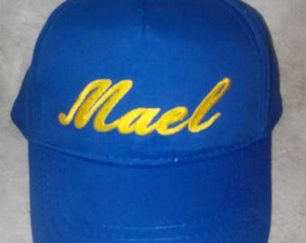 child's name custom embroidered Cap