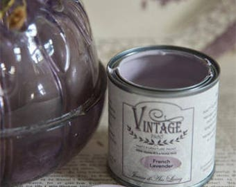 French Lavender Chalk Paint Jeanne d' Arc Living