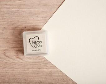 White - Rubber Stamp Mini Ink Pad