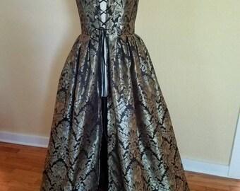 Brocade Renaissance Gown - xsmall 31/24