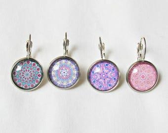 Mandala Stitch Marker For Crochet Knitting - Jewelry Jewellery Earrings Removable - Boho Set Bohemian