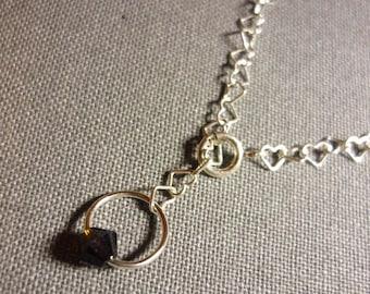 Choose swarovski Pearl and sterling silver bracelet adjustable 925