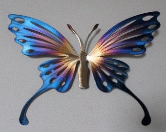 Hand-made Metal Butterfly,Wall Art,Home Decor,Garden,Nature,Sculpture