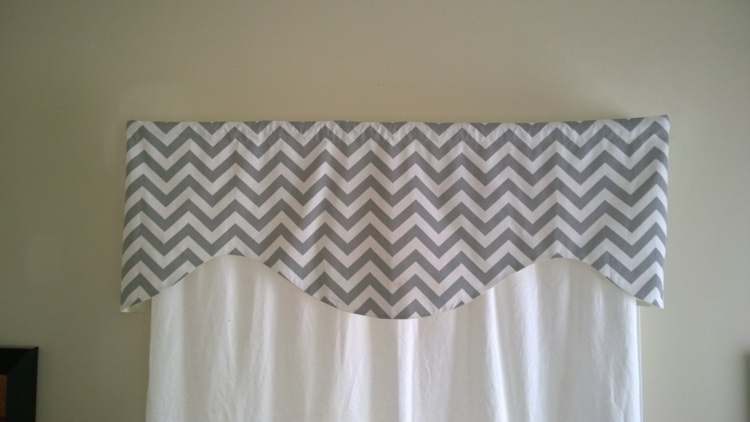 gray solid curtain products toppers tailored window kerry valance val color