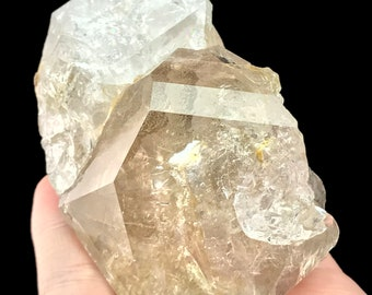 Herkimer Diamond Quartz Crystal Authentic from New York USA H909