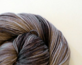 Merino sock yarn - Artisan Sock 3 ply in Detective Superintendant Hannasyde of Scotland Yard