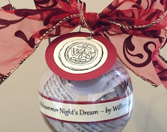 A Midsummer Night's Dream (William Shakespeare) Ornament