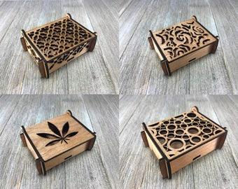 Laser cut box 1,2,3,4