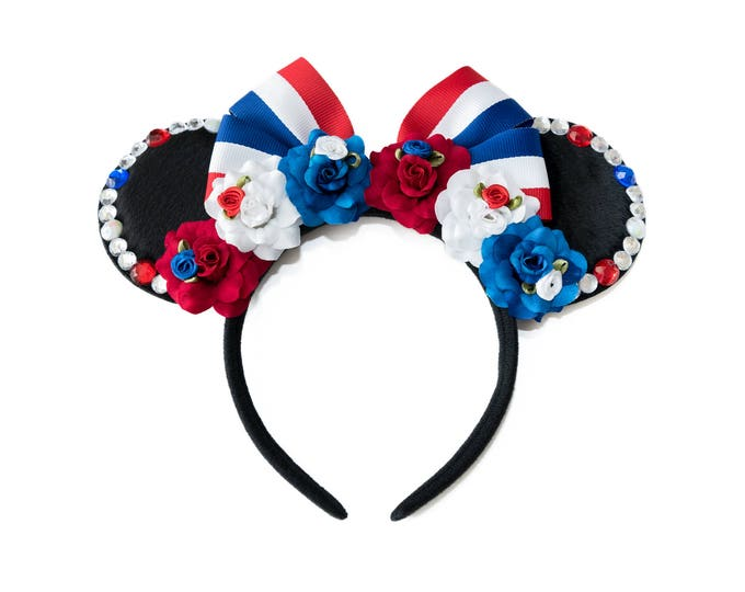 Patriotic Mouse Ears Headband