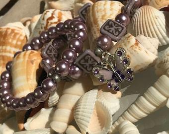 Lupus Purple Butterfly