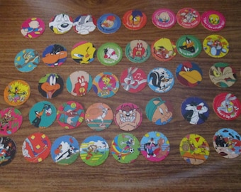 Walkers Tazos Looney Tunes Tazo Collection 41 Different Tazos (1995)