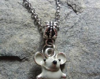Mouse Necklace
