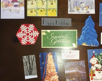 Gift Tags--Holiday/Winter--Assortment of 25 Tags
