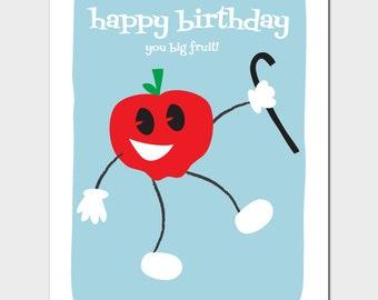 Big Fruit Birthday Card