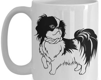 Foo Foo Pekingese Mug,  Gift for Pekingese Owner, Dog Mom Coffee Mug, Pretty Pekingese