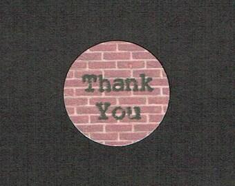 Circle Stickers, Custom Sticker, Set of 80, Sticker, Business Stickers, Logo Sticker, Printed Sticker, Thank You Sticker