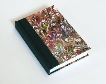 "Sketchbook 4x6"" with motifs of marbled papers - 31"