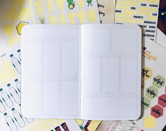 Fill It Yourself Insert (Field Notes / Pocket Size)
