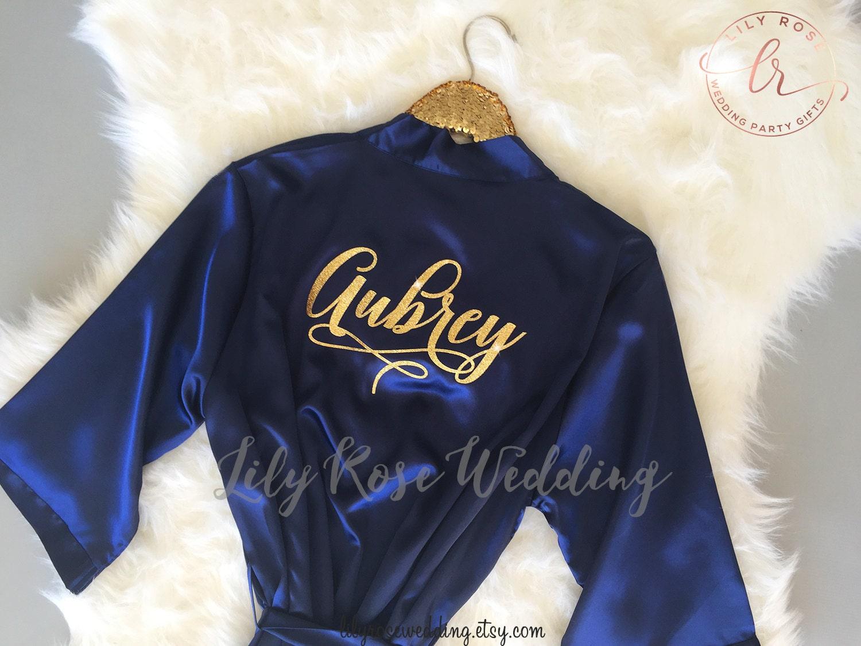 Bridesmaid Robes Gift Robe