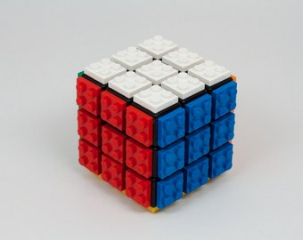 Rubik's Cube Plated With LEGO® Bricks